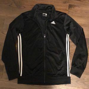 Adidas zipper track jacket